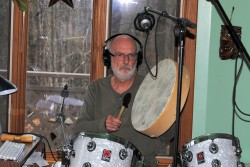 Roch et son tambour amérindien